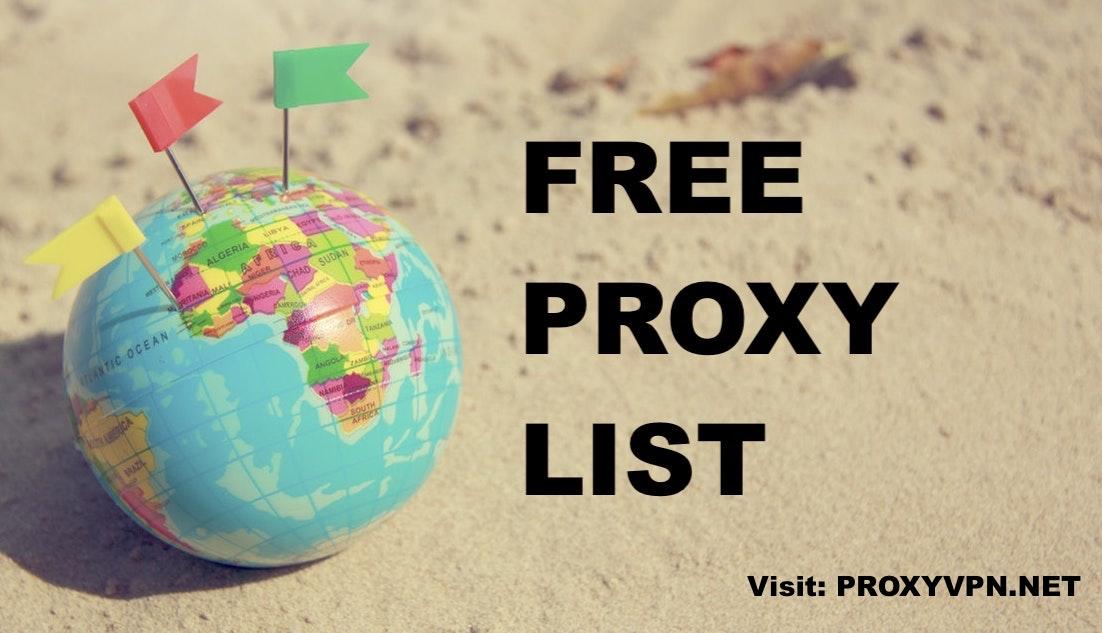 pvpn-free-proxylist