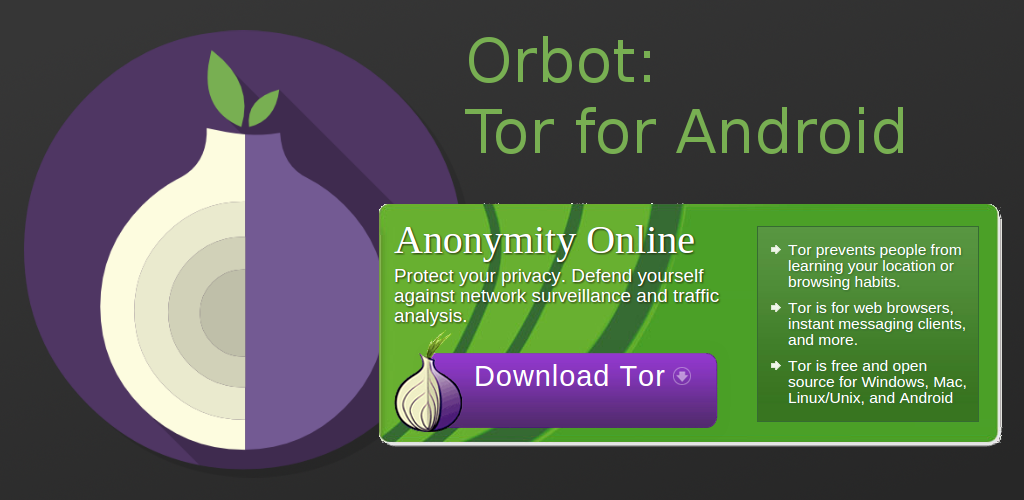 Orbot – Proxy With Tor