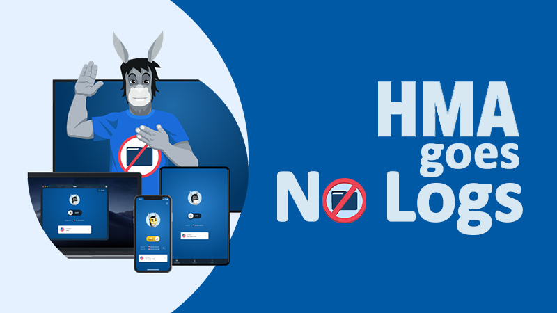 HMA changes its logging policy – Now a no logs VPN